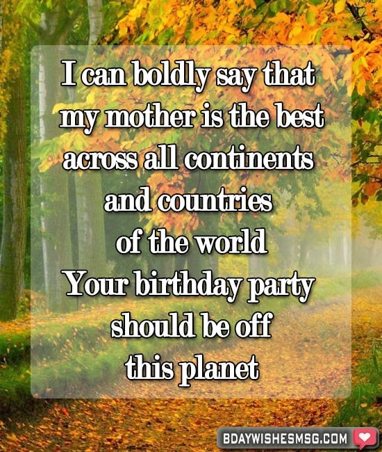 Best Wishes to Say Happy Birthday Mom