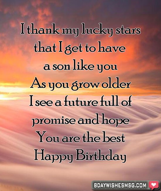 Admirable Best Birthday Wishes For Son Bday Wishes Msg Personalised Birthday Cards Veneteletsinfo
