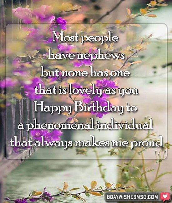 1st birthday wishes for nephew