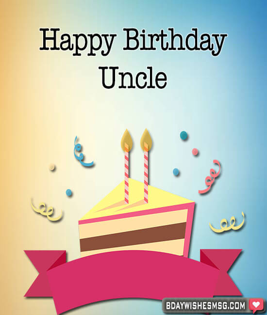 birthday wishes for uncle images