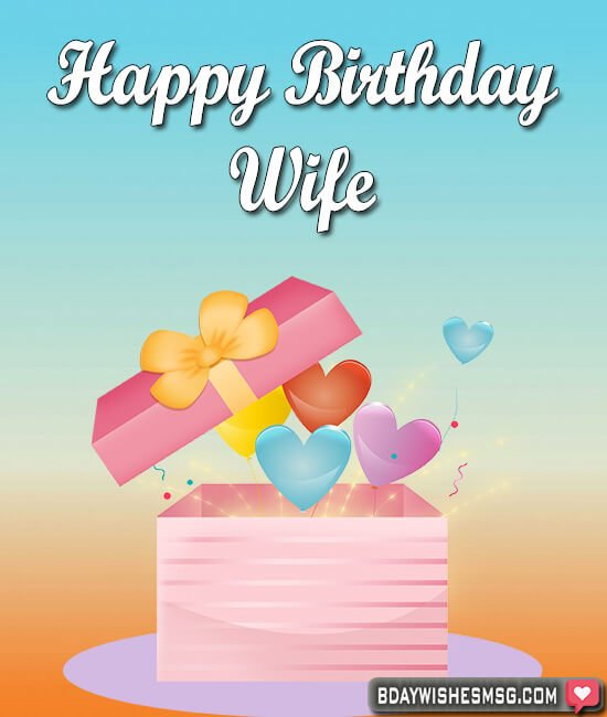 birthday wishes for wife with images