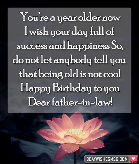 birthday quotes for Father-in-Law